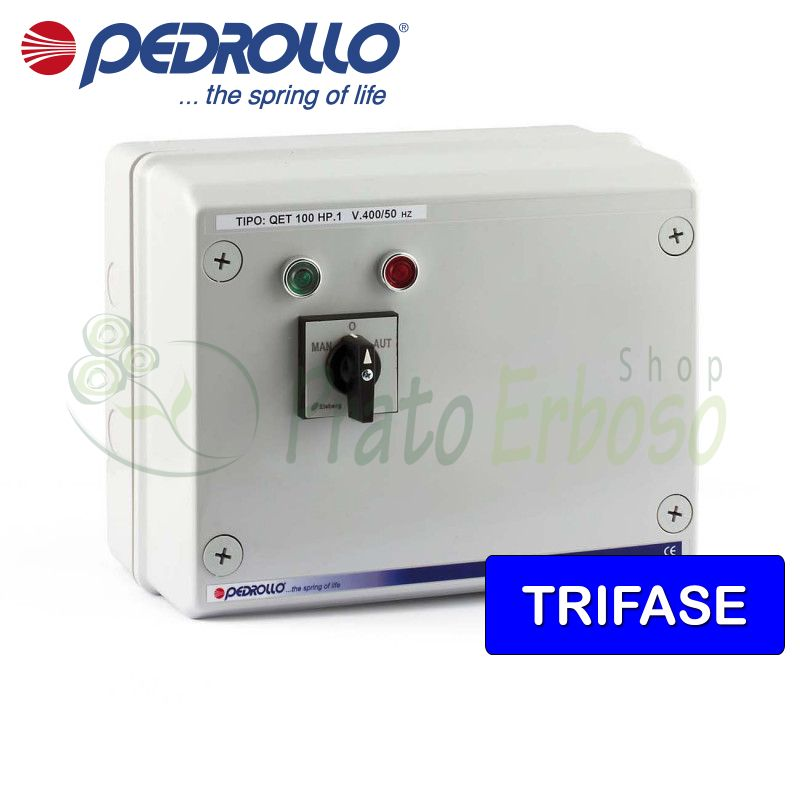 QET 1000 - Electric panel for 10 HP three-phase electric pump