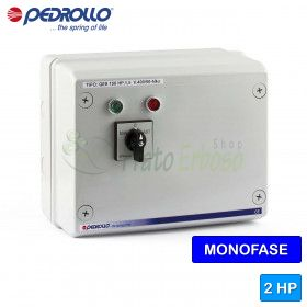 QSM 200 - electric panel for electric pump, for single phase 2 HP