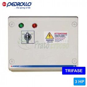QST 300 - electric panel for electric pump, three-phase 3 HP