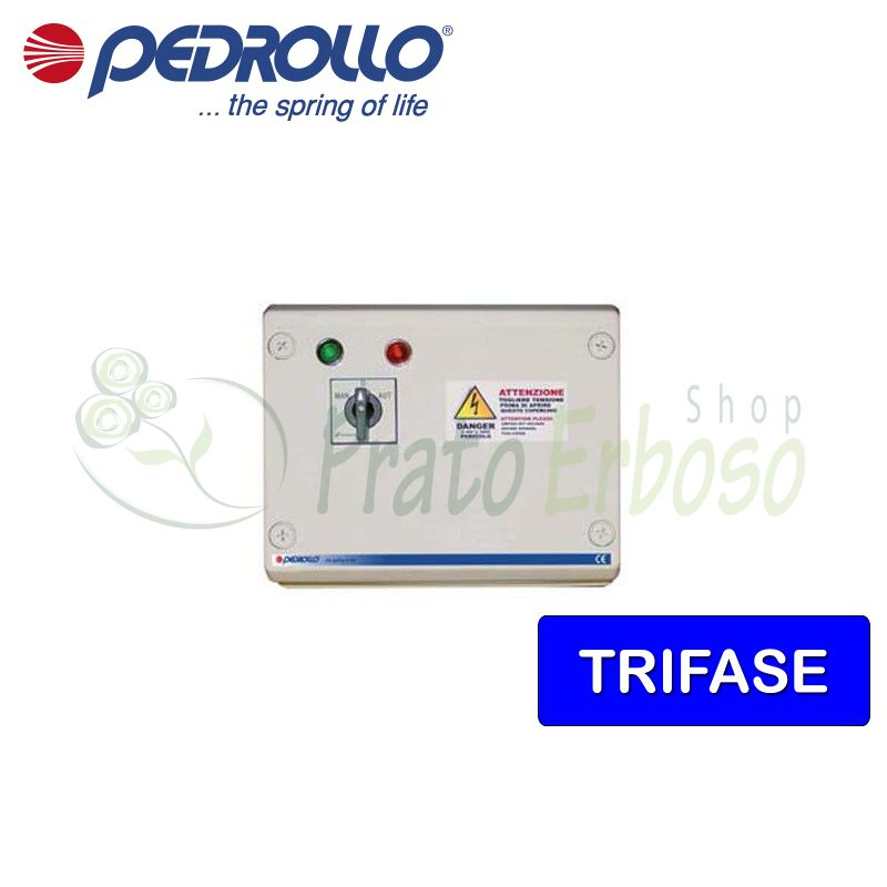 QST 1000 - electric panel for electric pump, three-phase 10 HP