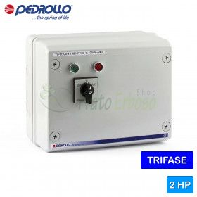 QES 200 - electric panel for electric pump, three phase 2 HP
