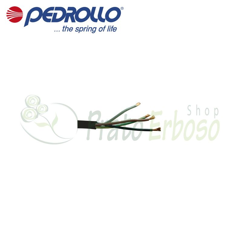 H07 RN-F 4x1.5 - power Cable for submersible pump 4x1.5