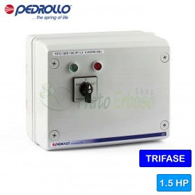 QES 150 - Electric panel for 1.5 HP three-phase electric pump