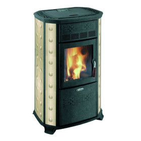 Ball - pellet Stove 11 Kw ivory