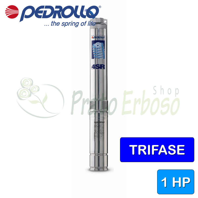 4SR8/4 - PD - submersible electric Pump three-phase from 1 HP