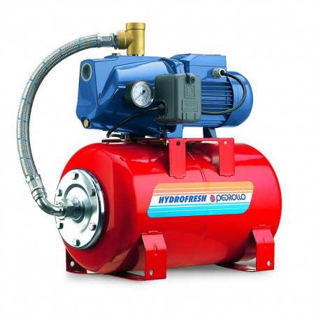 JSWm 2CX - 24 CL - Group water pressure system with pump JSWm