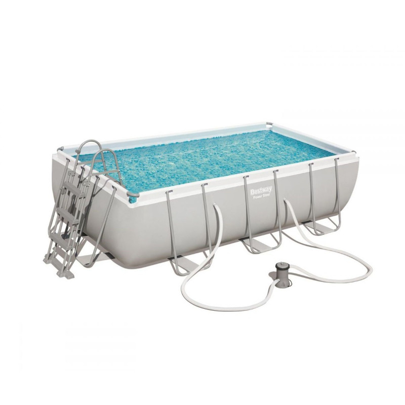 STEEL300 - STEEL FRAME pool 3 x 2,01 xh 0,66