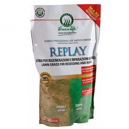Replay - Seeds for lawn regeneration of 1.2 Kg