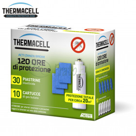 Charging 120 hours for devices ThermaCELL