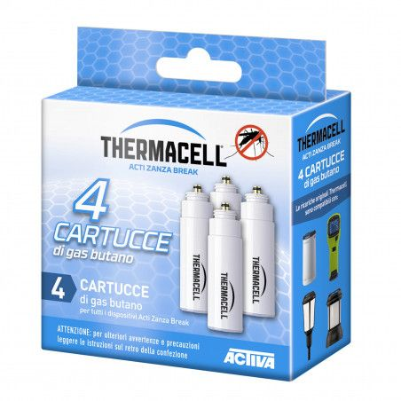 Package with 4 Butane gas cartridges