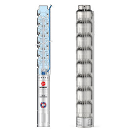 4HR 14/21 - PD - 5.5 HP three-phase submersible pump