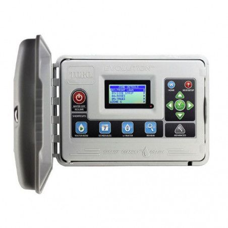 Evolution - Control unit from 4 to 16 stations for outdoor use